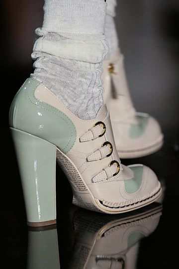 53eb2906b John Galliano Details Spring 2012 --Love these but the day I can afford  Galliano... I ll die of shock!