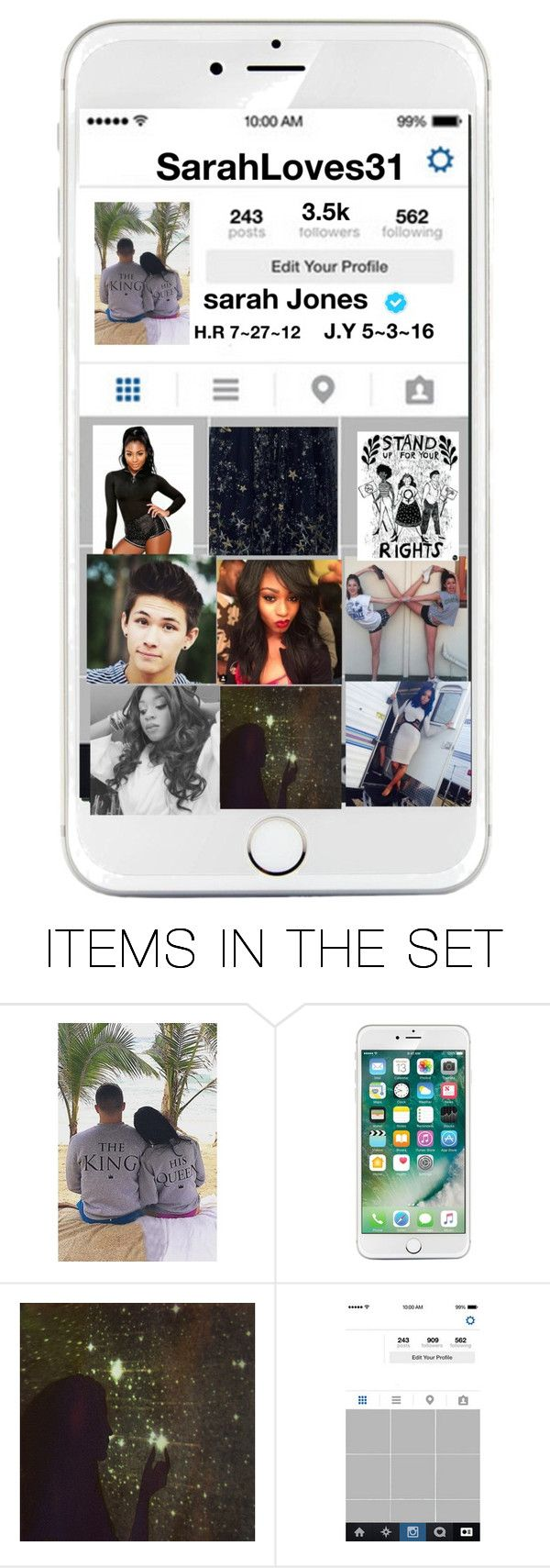 """sarah instagram"" by shyanne-andrade ❤ liked on Polyvore featuring art"