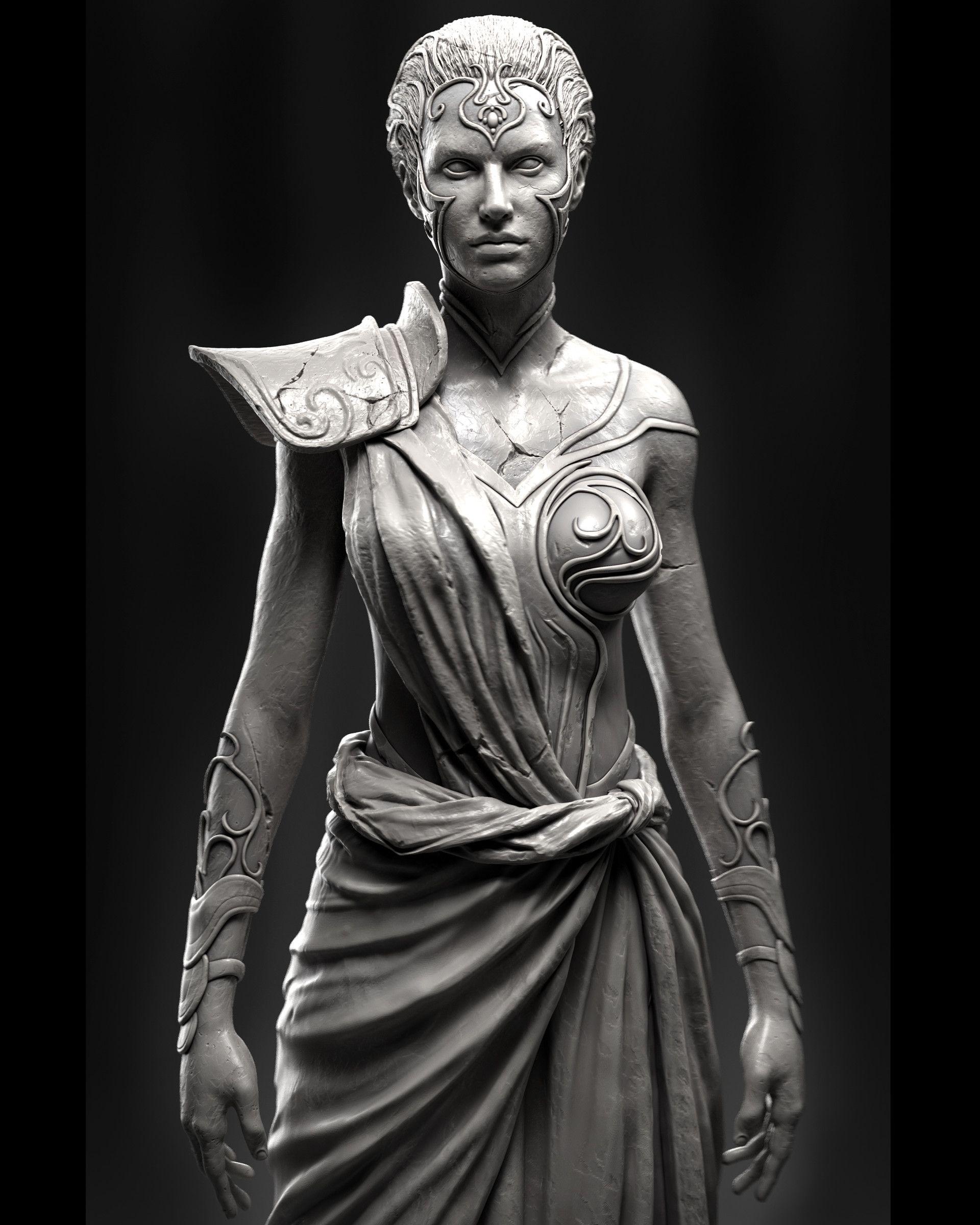 ArtStation - GOW athena, Eric Valdes | Characters: Fantasy ...