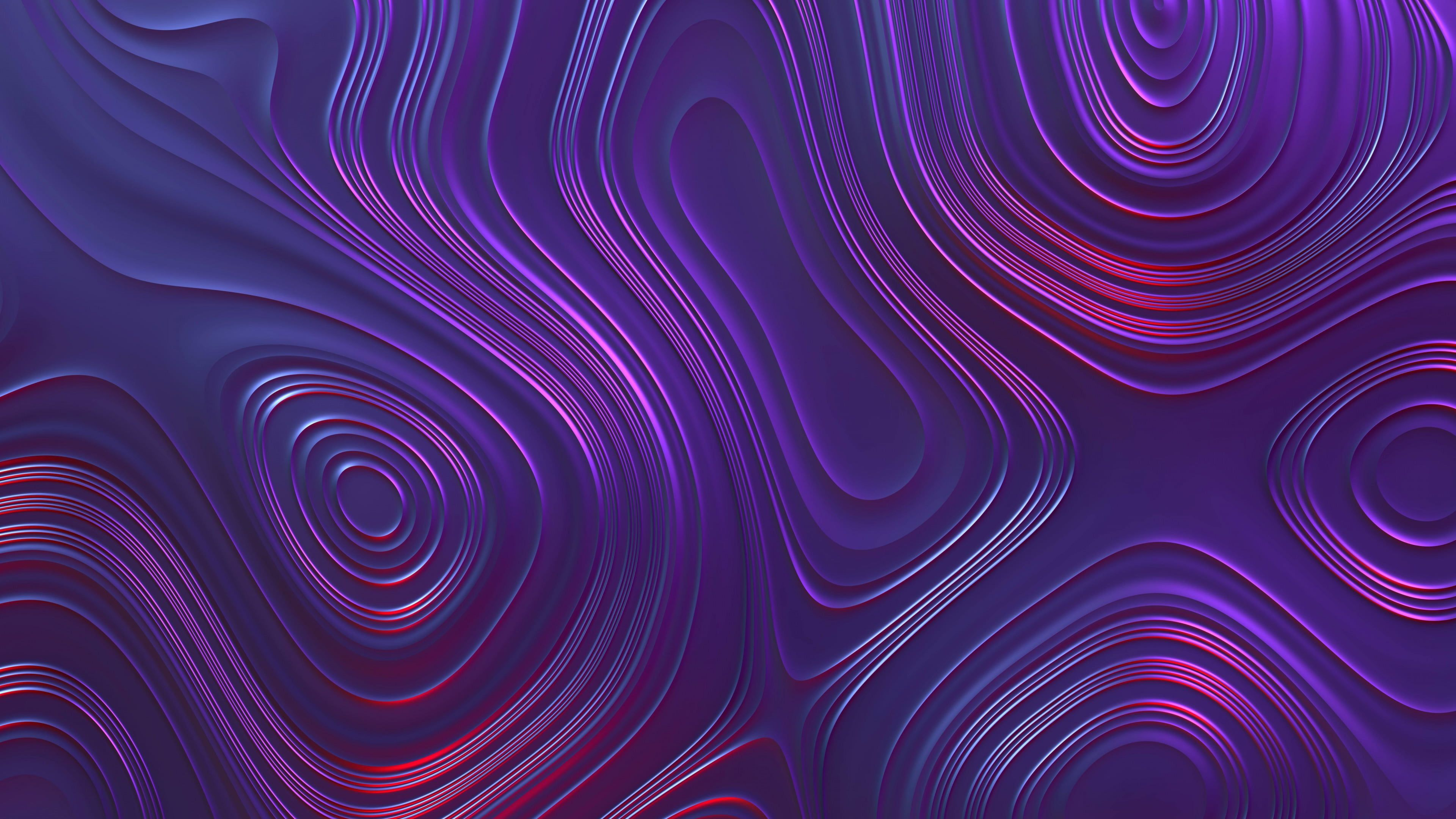 Purple And Red Abstract Painting Abstract Wavy Lines Swirl Swirls Render Shapes Digital Art 4k Wallpape Red Abstract Painting Abstract Abstract Painting