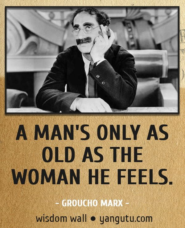 Funny Groucho Marx Quotes: Pin By Arthur & Paula Wiggins On Moment Of Wisdom