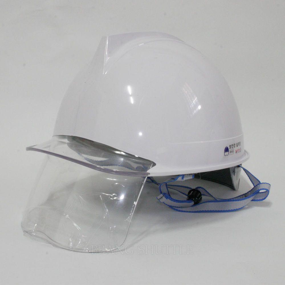 Abs Hard Hat Cap Safety Work Helmet Clear Visor Eye Shield Protection Am 321 Hard Hat Hats Visor