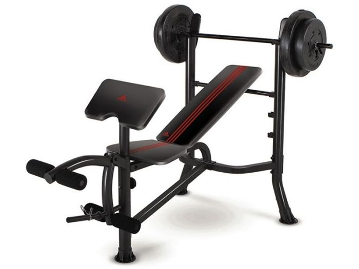 Argos Product Support For Adidas Bench And Weights Package 3237461 Weight Benches Weight Set At Home Gym