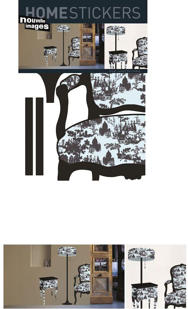 Nouvelles Images Toile De Jouy Furniture Decals Wall Sticker