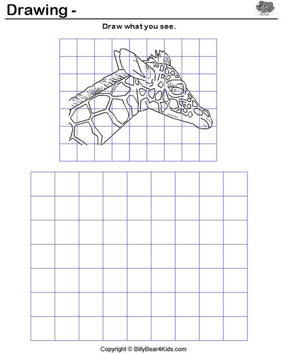 1000 Images About Pics For Grid Drawings On Pinterest Art Art Worksheets Art Lessons Middle School Art Lessons Elementary 6th grade art worksheets