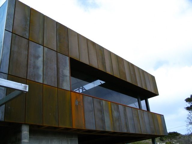 using corten rainscreen google search cladding. Black Bedroom Furniture Sets. Home Design Ideas