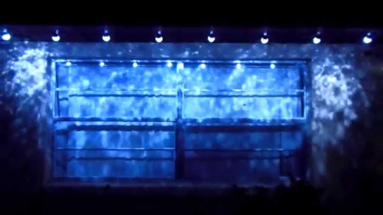 2017 Gemmy Light Show Kaleidoscope Projection Led Lights White Projector