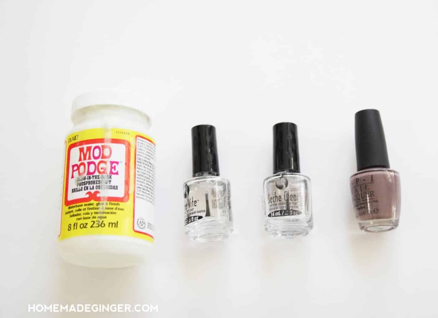 DIY Glow in the Dark Nails for Halloween | Dark nails ...