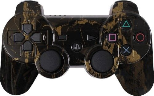 Black Gold Marble Custom Ps3 Controller Brand New Playstation 3 Controller Sonhos