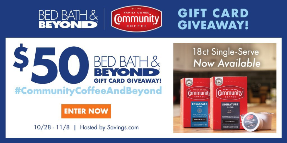 Enter To Win The CommunityCoffeeAndBeyond Giveaway 10