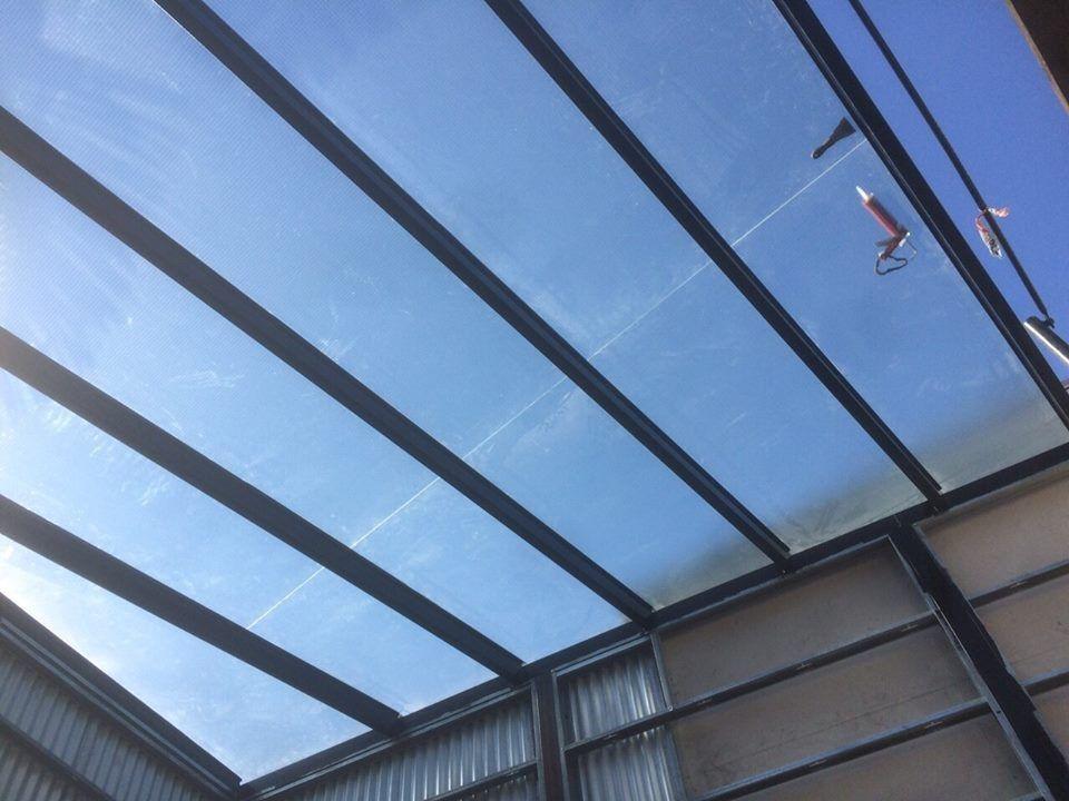 techos de vidrio laminado de seguridad