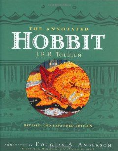 The Hobbit by J.R.R. Tolkien. Oh, how I love this book. Now with annotations!