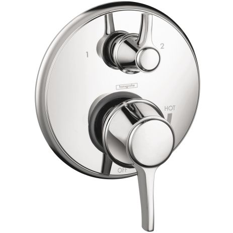 Hansgrohe C Pressure Balance Trim With Diverter Uses Ibox Rough