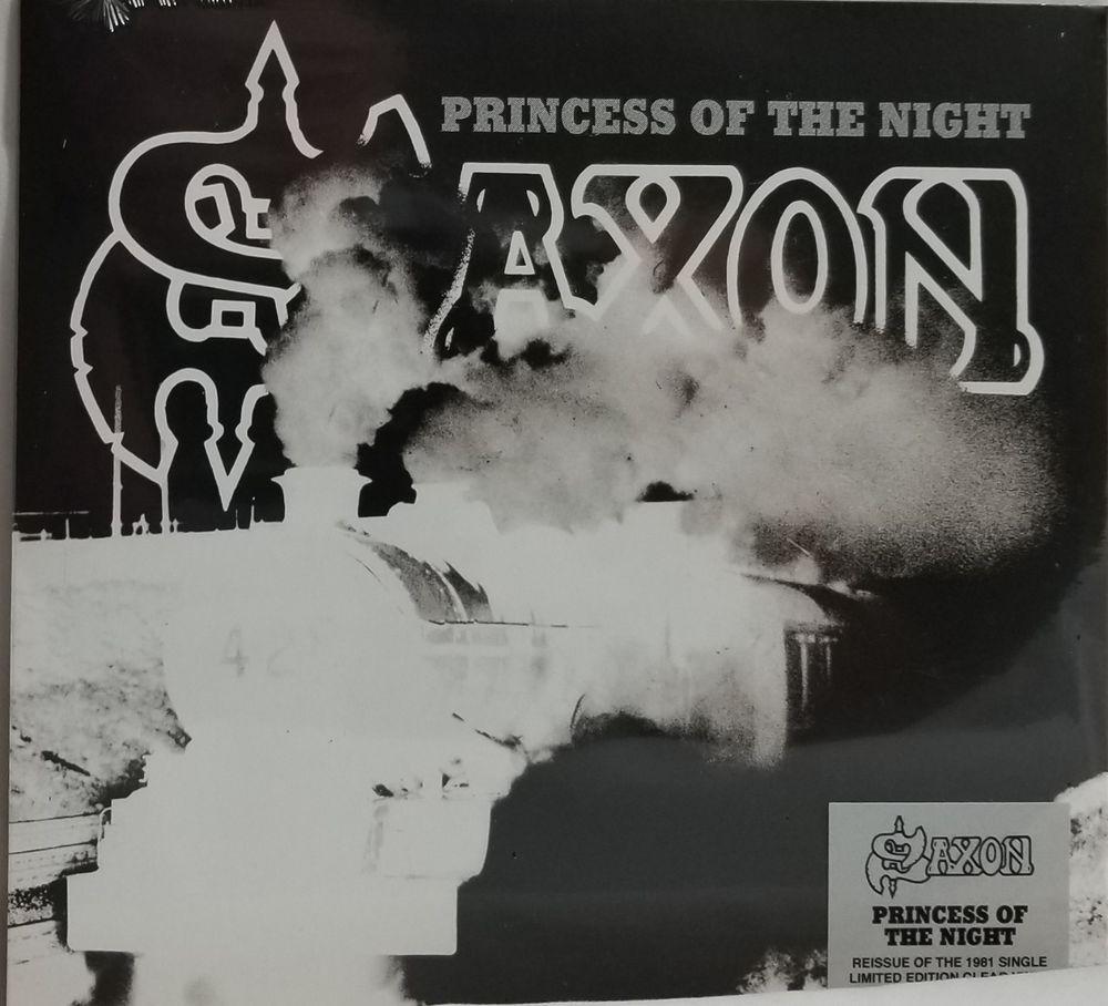 Saxon Princess Of The Night Fire In The Sky 7 Clear Vinyl Rsd 2018 Ebay Vinyl Records For Sale Clear Vinyl Vinyl
