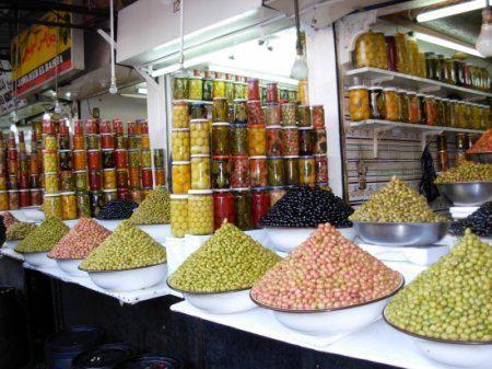 Vendeur d'Olives
