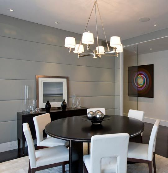 15 Amazing Wall Treatments For Your Dining Room Dining Design Round Dining Room Interior