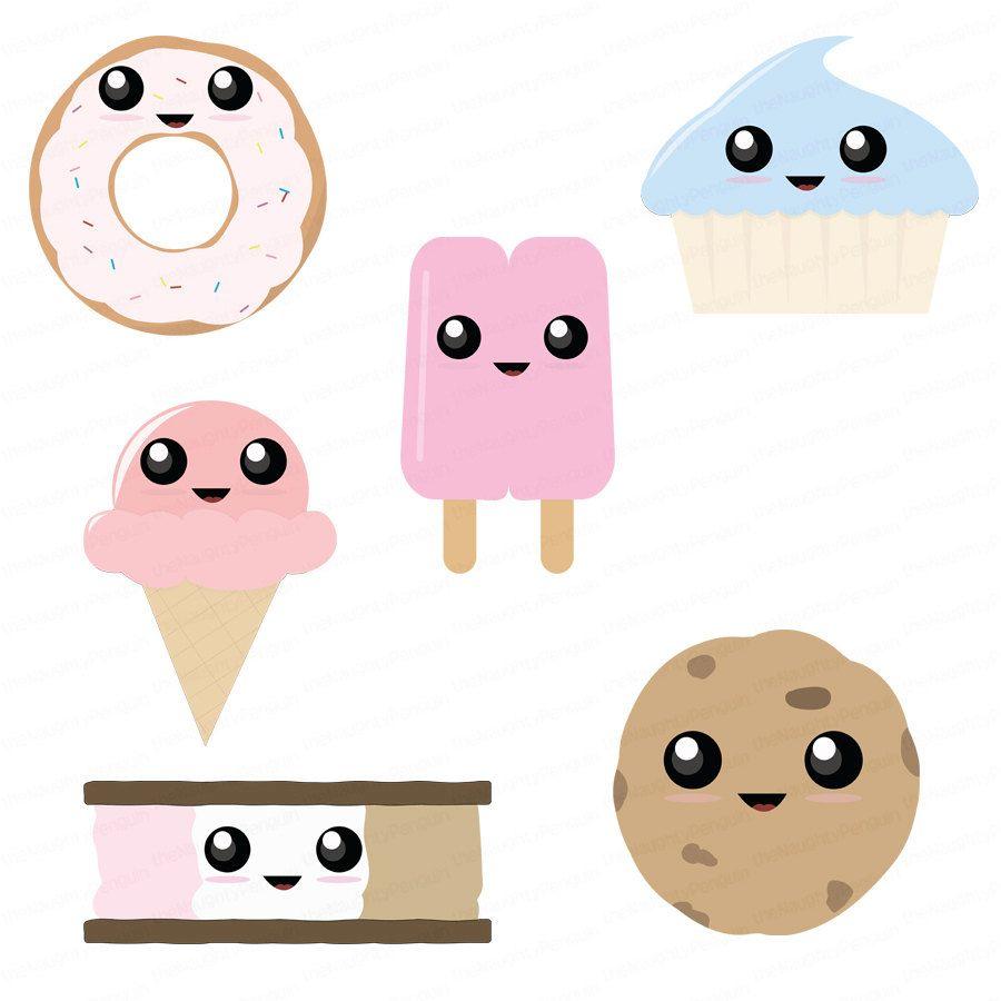 small resolution of dessert clip art dessert junk food sweeties clip art embellishment package for