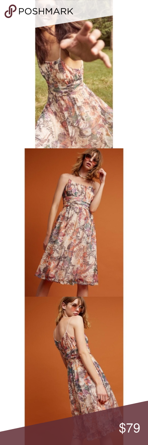 c5c2ca6a9ff2 NWT ANTHROPOLOGIE Maeve Mackenzie Floral Dress NWT | Turkey photos ...