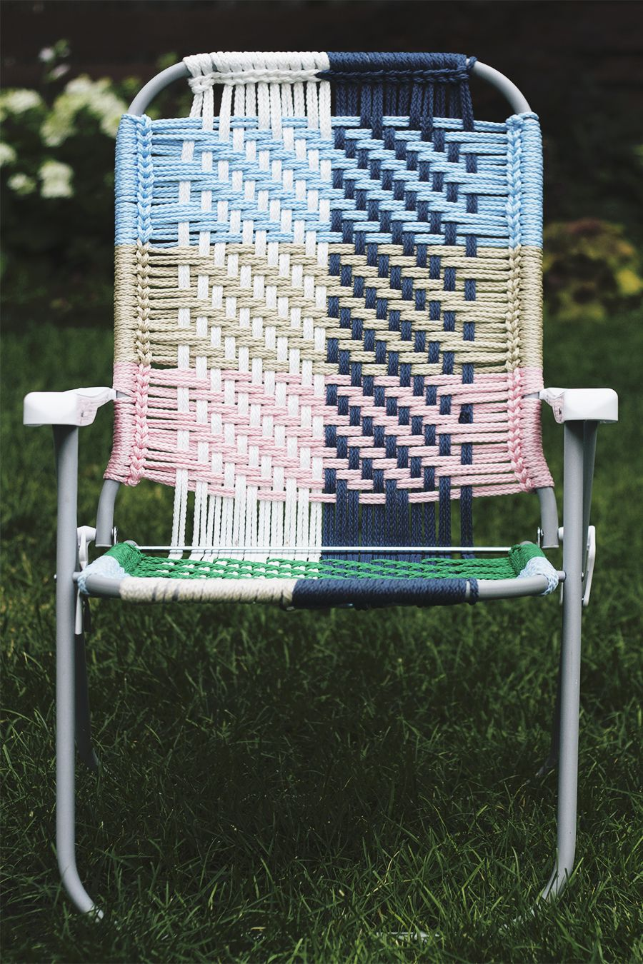 Macrame Hoo Ray With Images Diy Chair Macrame
