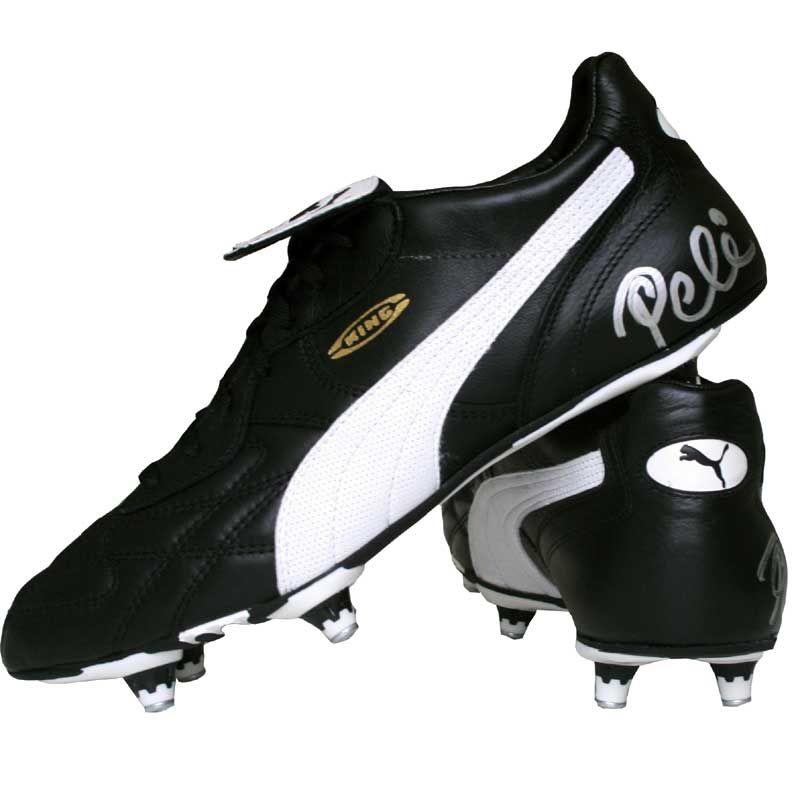 mejor valor entrega rápida gran venta pele-signed-classic-puma-king | Old Soccer boots | Zapatos ...