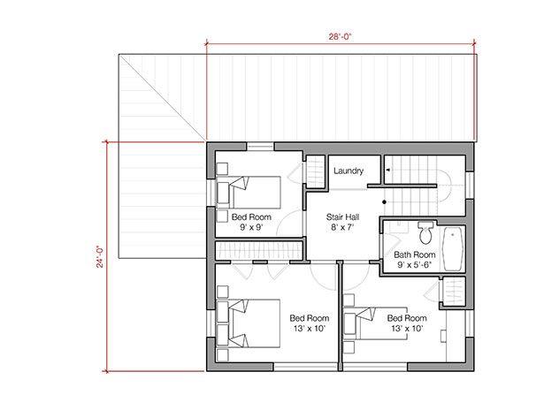 1500 Square Foot Energy Efficient Prefab House Plan By Go Logic House Plans Small Farmhouse Plans House Floor Plans