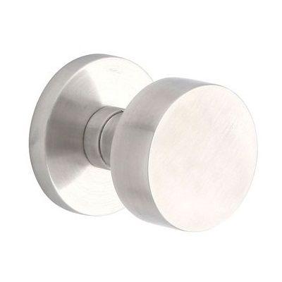 Emtek stainless steel modern round door knob interior - Contemporary interior door knobs ...