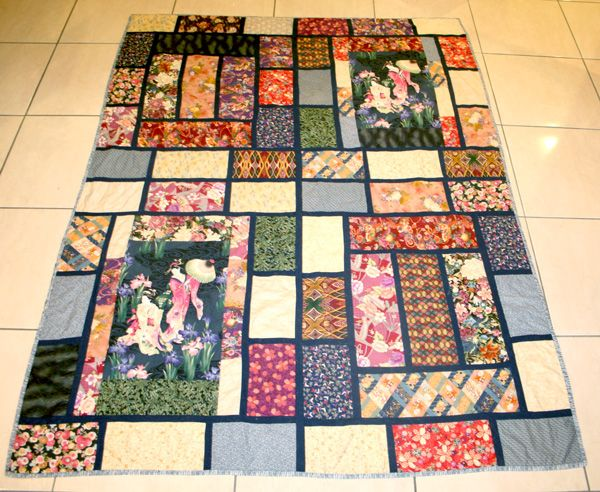 Congratulate, Asian quilting fabric panels