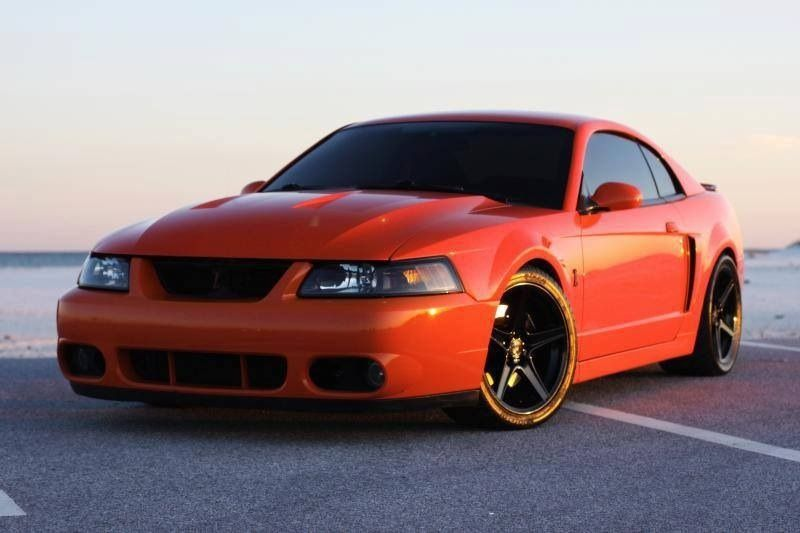 Sweet Ford Cobra Mustang Orange Looking A Cobra Competition