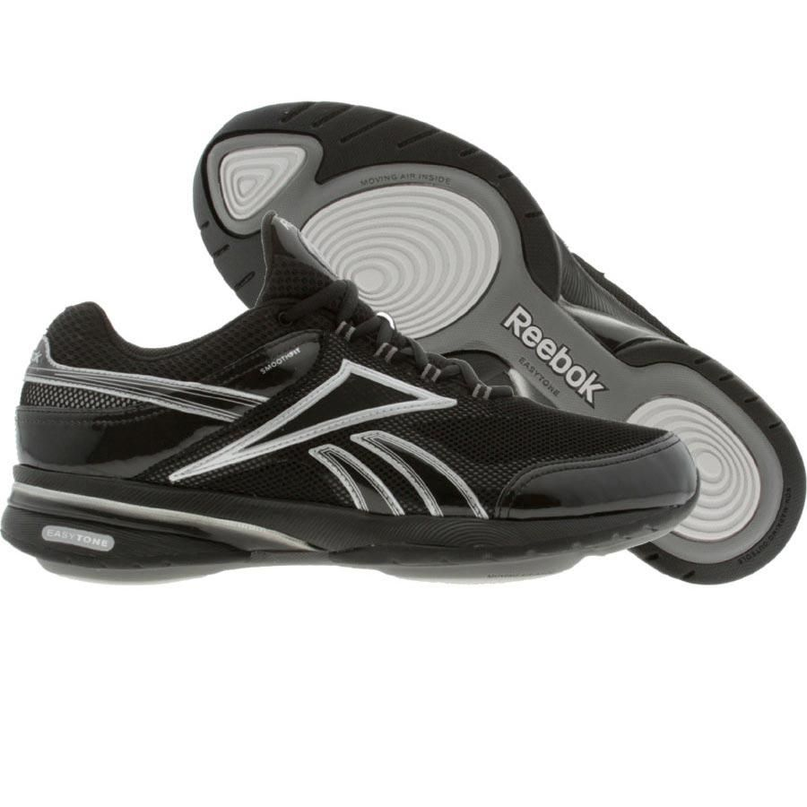 b69975cafee Reebok Womens EasyTone Reenew (black   silver   steel   medium grey)  11-J21970 -  89.99