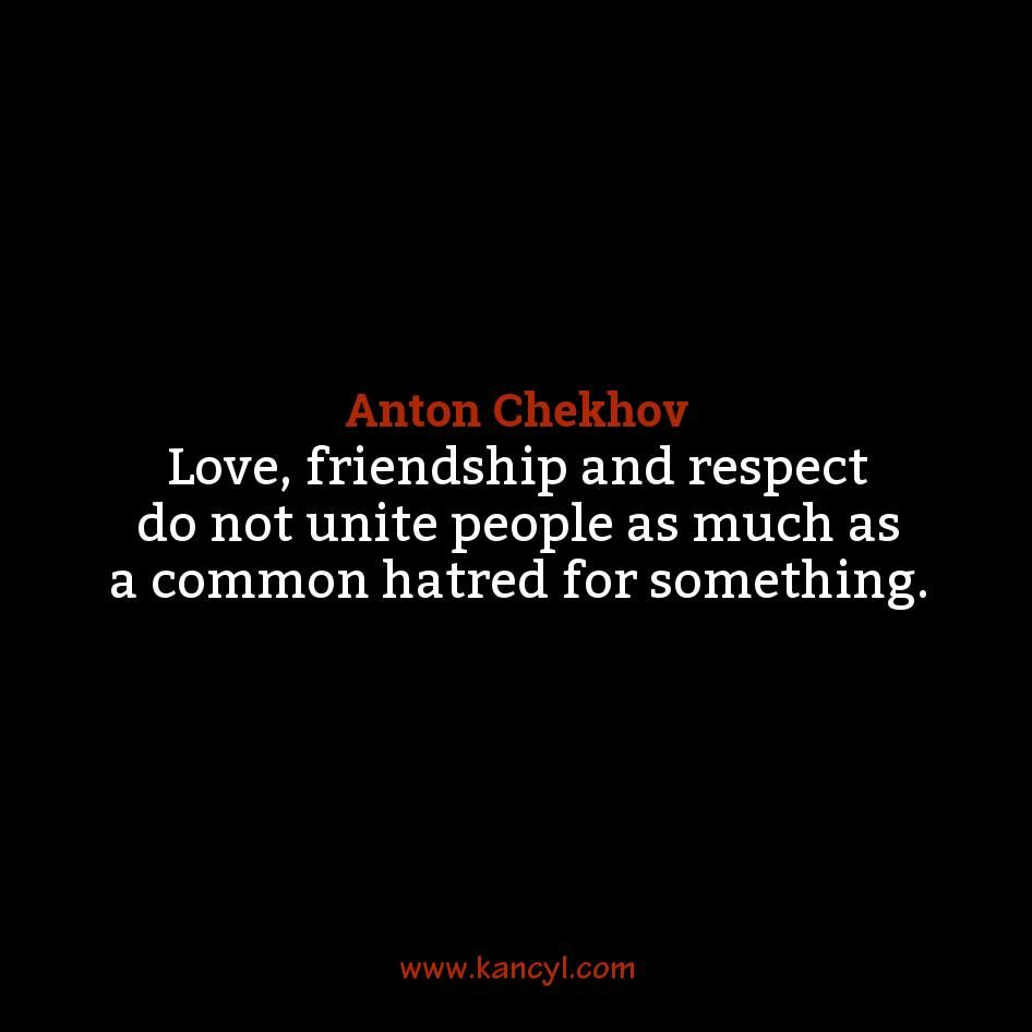 Love Respect Quotes Love Friendship And Respect Do Not Unite People As Much As A