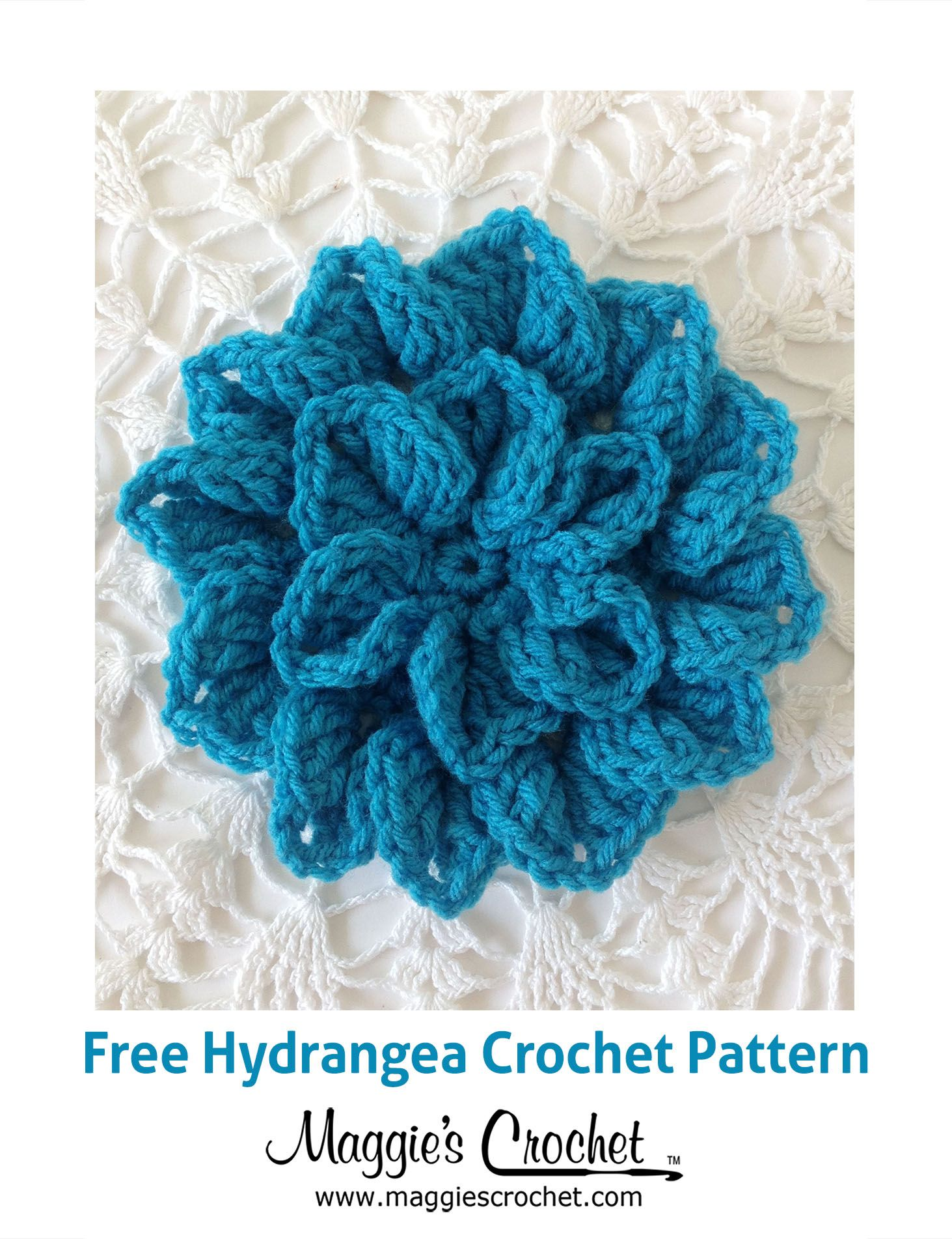 Pretty corsage free crochet pattern corsage free crochet and these flowers come in a variety of blues and pinks depending on the acidity of your soil our hydrangea p find this pin and more on crochet free patterns bankloansurffo Image collections