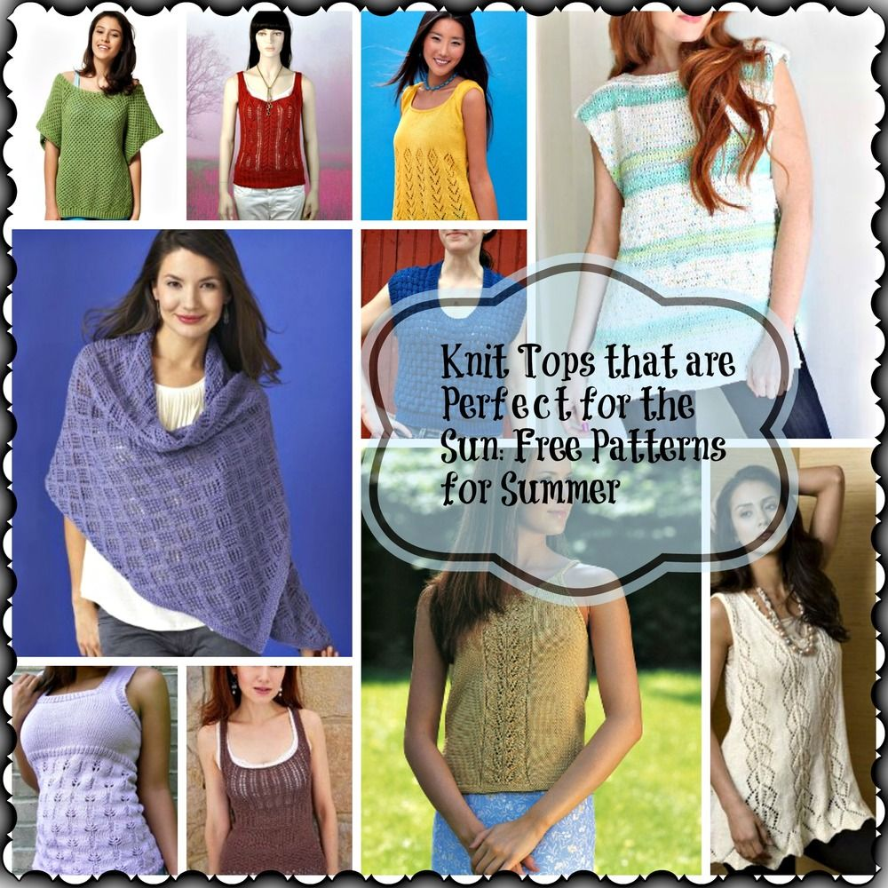a108c3e10 Knitted Tops Patterns