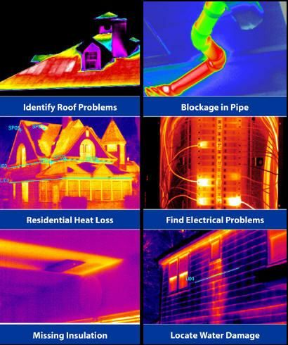 Infrared Applications Thermography Infrared Roof Problems