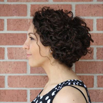 Trendy Curly Updos For Weddings Proms