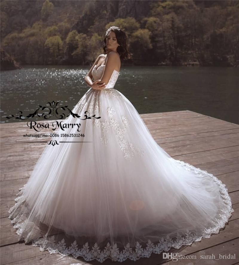 Princess Ball Gown Lace Wedding Dresses 2019 Corset Vintage Plus Size White Puffy Tulle Lace Wedding Dress Vintage Ball Gown Wedding Dress Princess Ball Gowns,Wedding Knee Length Wedding White Cocktail Dress