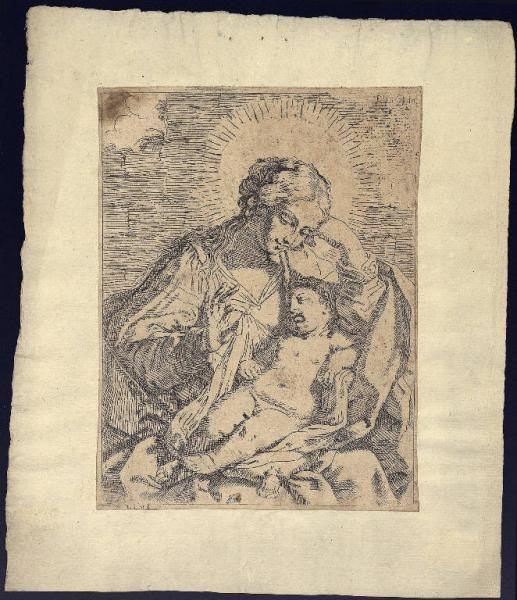 stampe madonna con bambino