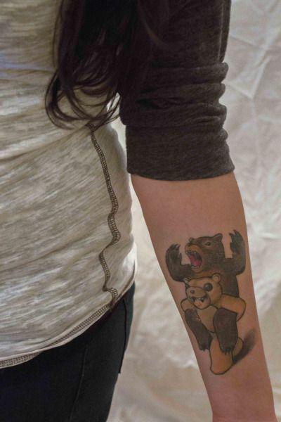 dancemiserablex:  and here it is! debuting my folie à deux tattoo.