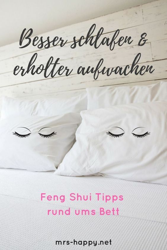 Feng Shui im Schlafzimmer Bett, Farben & co. (einfache