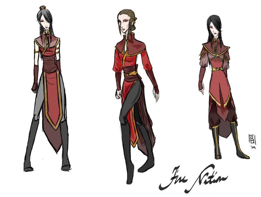 Fire Nation Oc Clothes