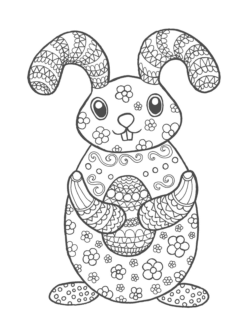 Kleurplaten Voor Pasen Met Gratis Printables Voor Jong Oud In 2021 Kleurplaten Voor Kinderen Gratis Printables Kleurplaten