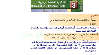 الأحياء ثالث ثانوي نظام المقررات الفصل الدراسي الأول In 2020