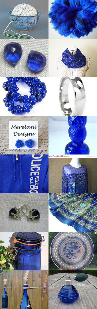 Affectionate Cobalt Finds by A Vidmar on Etsy--Pinned with TreasuryPin.com