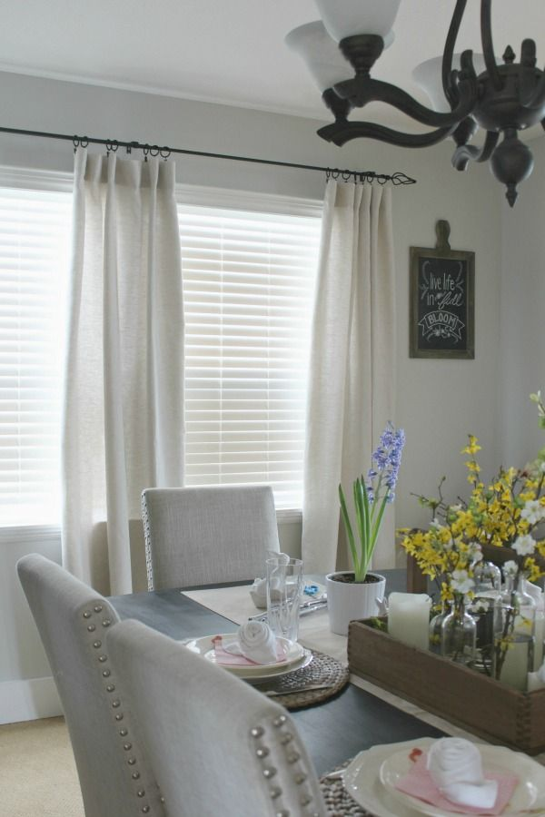 How to Hang Curtains and Drapes - cortinas para ventanas