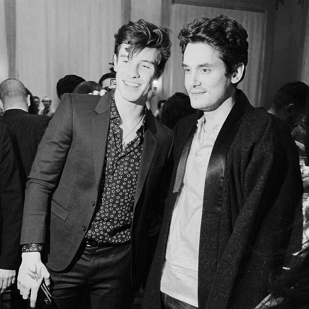 John Mayer Live In La: Shawn With @johnmayer Yesterday At @billboard's Live Music