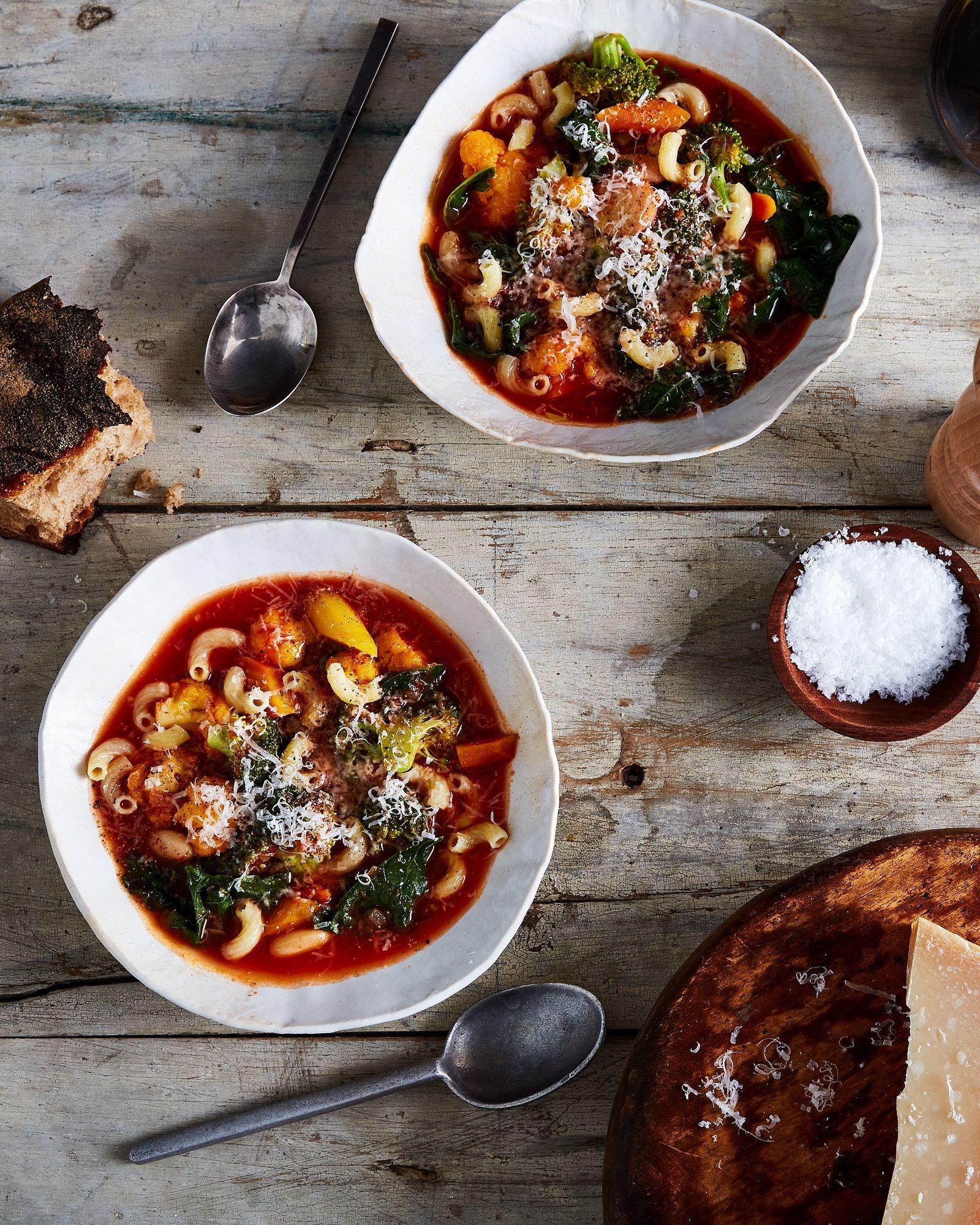 photo Desperation Dinners: Mushroom Soup