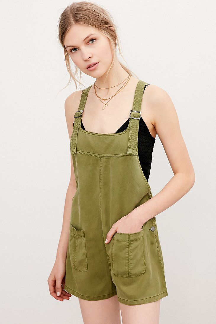bf7a112f32 BDG Nicki Overall Romper
