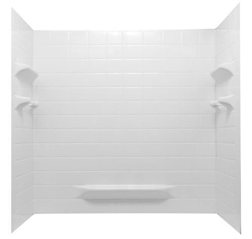 Lyons Palm Springs 60 X 32 White Bathtub Wall Surround Bathtub Walls Tiny Bathrooms Shower Tub