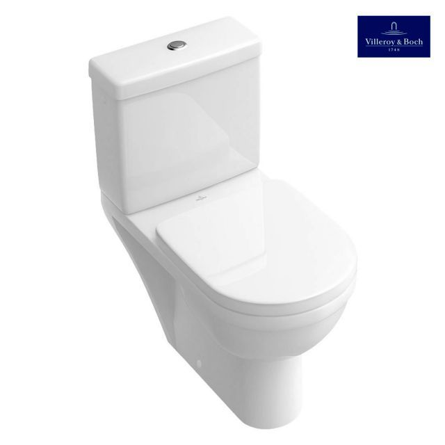 Villeroy And Boch Architectura Close Coupled Wc In 2020 Toilet Close Coupled Toilets Downstairs Loo