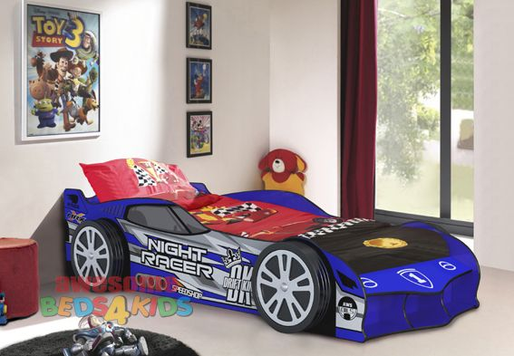 Drift Night Racer Car Bed Blue Or Red Awesome Beds 4