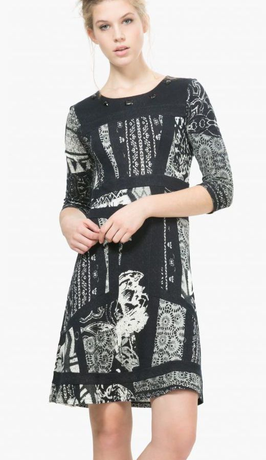 Desigual Dress Paula, Buy online | Desigual Dresses | Pinterest ...